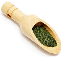 green-tea-in-a-wooden-spoon