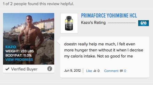 PrimaForce_Yohimbine1_HCl_Reviews_-_Bodybuilding_com