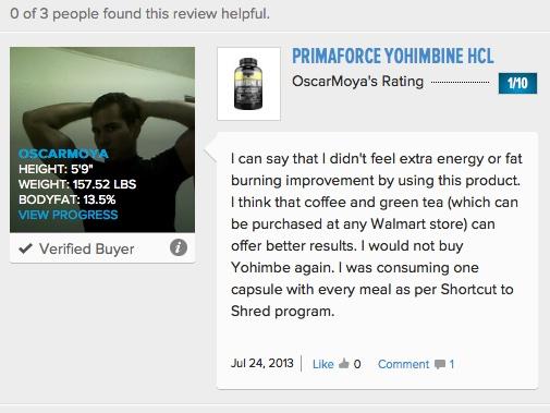 PrimaForce_Yohimbine_HCl_Reviews_-_Bodybuilding_com