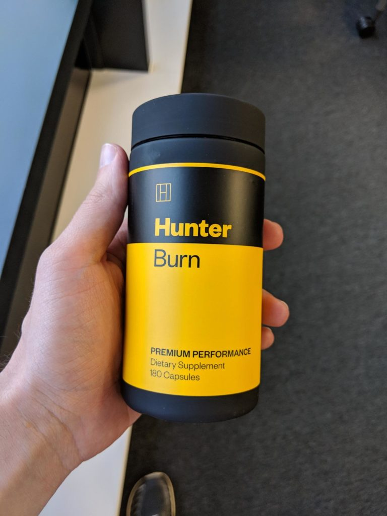 hunter burn fat burner review